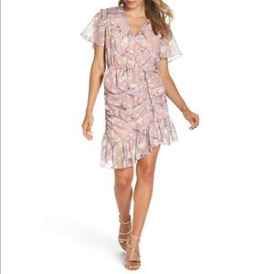 Anthropologie💫Foxiedox ✨Lilac Ruched Dress